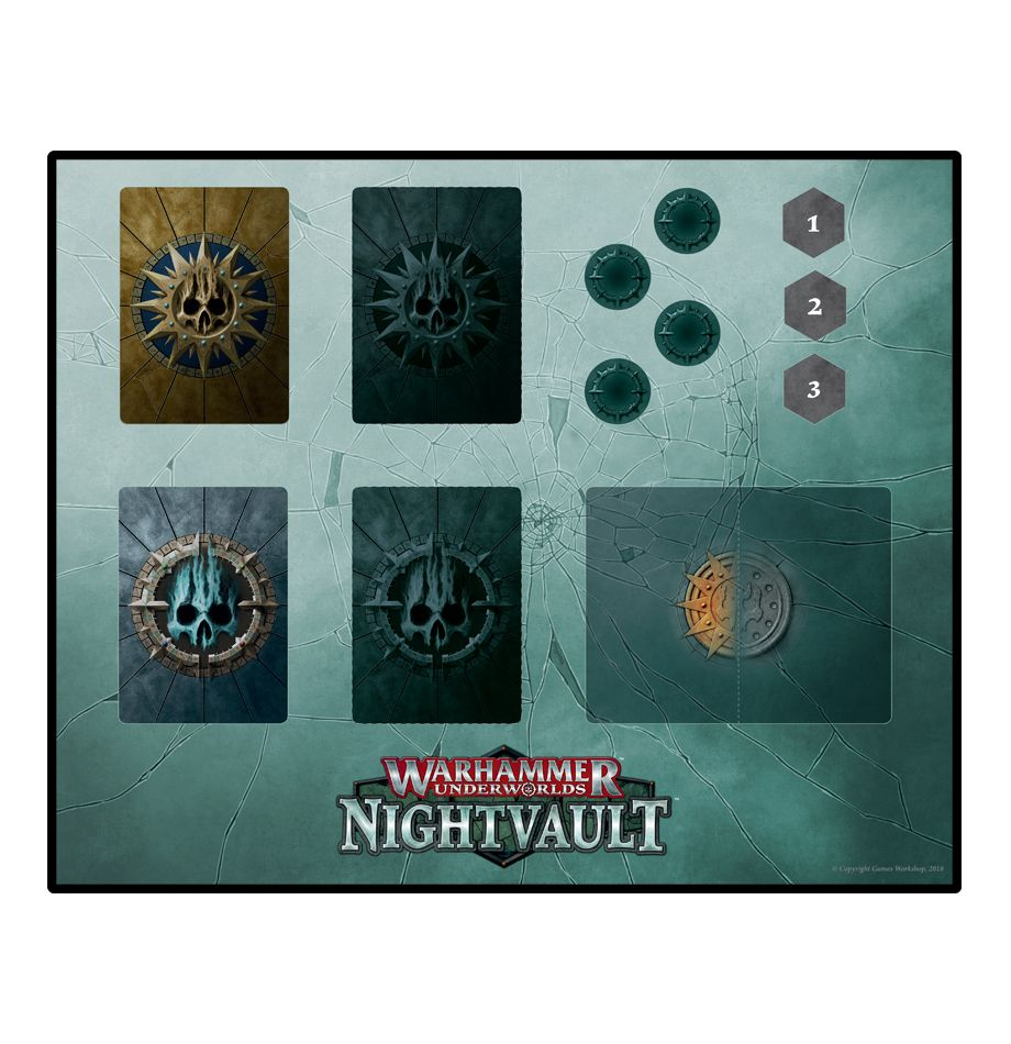 Nightvault Dashboard Mat