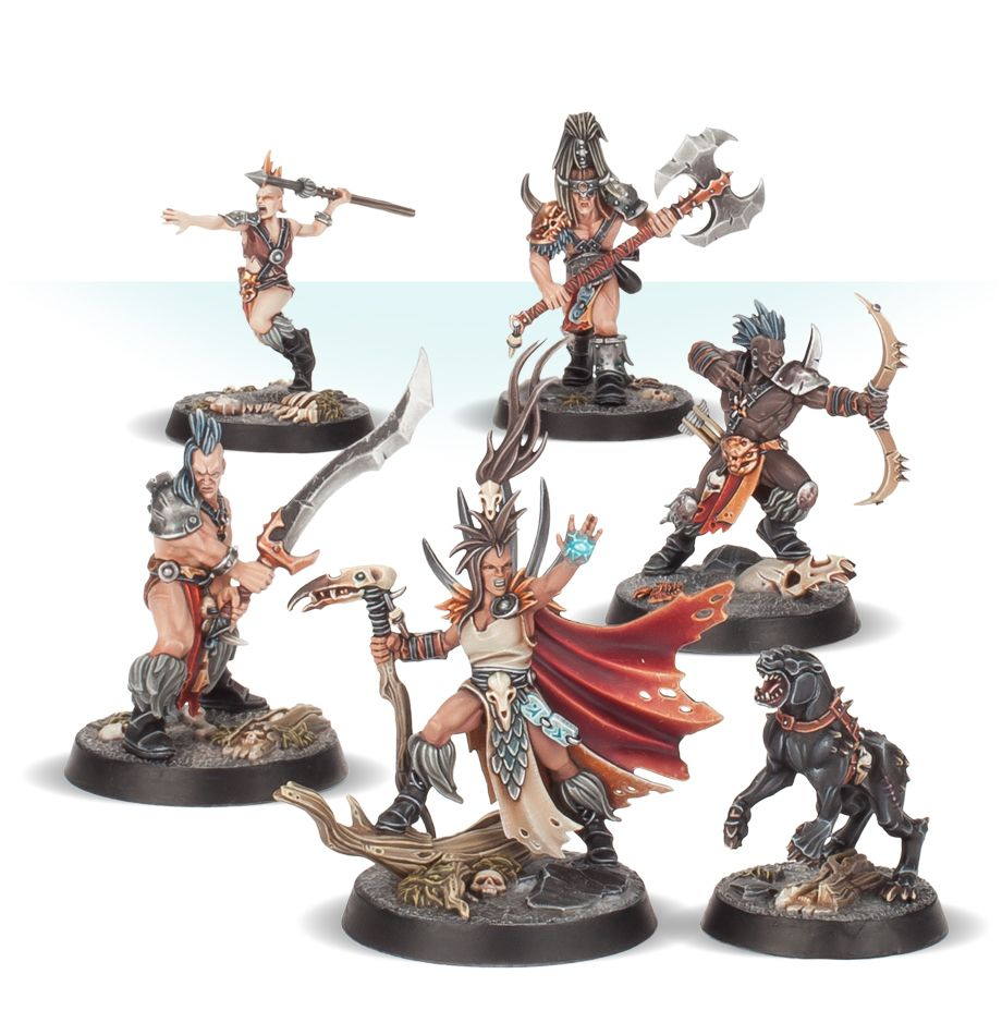 Godsworn Hunt Miniatures