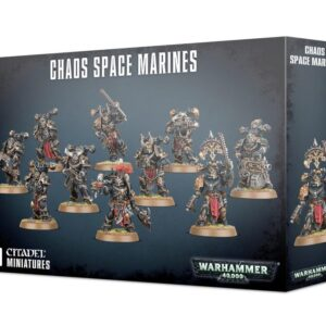 Chaos Space Marines Squad Box