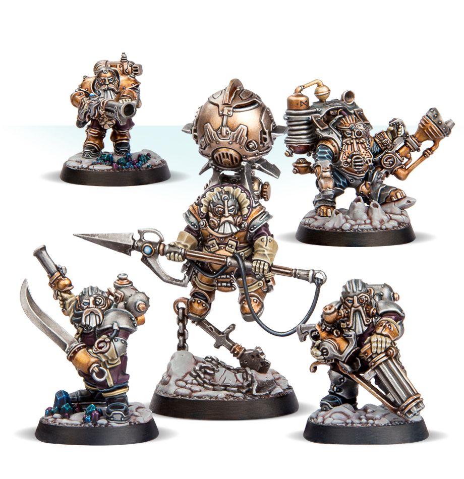 Thundriks Profiteers Miniatures