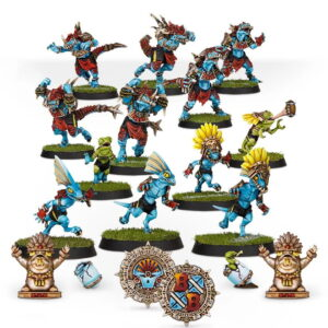 Lizardmen Bloodbowl team
