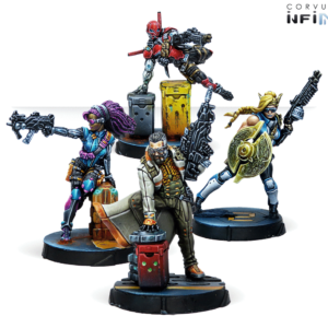 Infinity Soldiers of Fortune