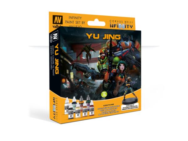Model Colour Set Infinity Yu Jing