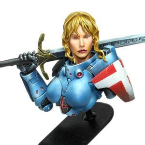 Joan bust 1