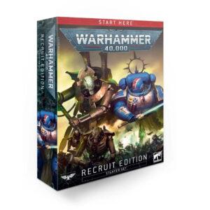 Warhammer 40 000 Recruit Edition Box